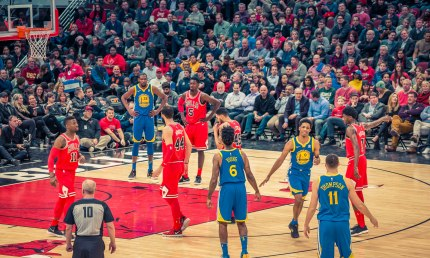 Chicago Bulls vs Golden State Warriors 1