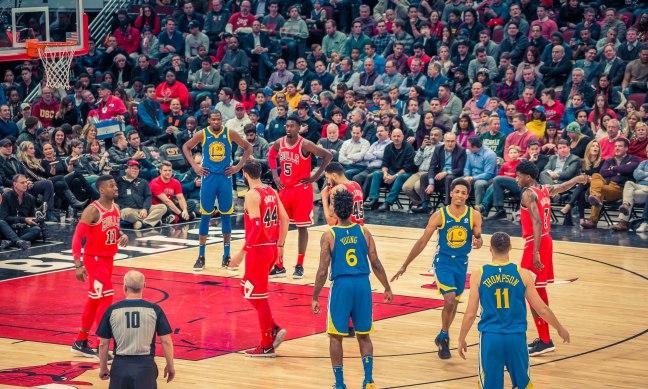 Chicago Bulls vs Golden State Warriors 1